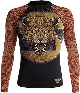 Women's The Jaguar Warrior Rash Guard MMA Black