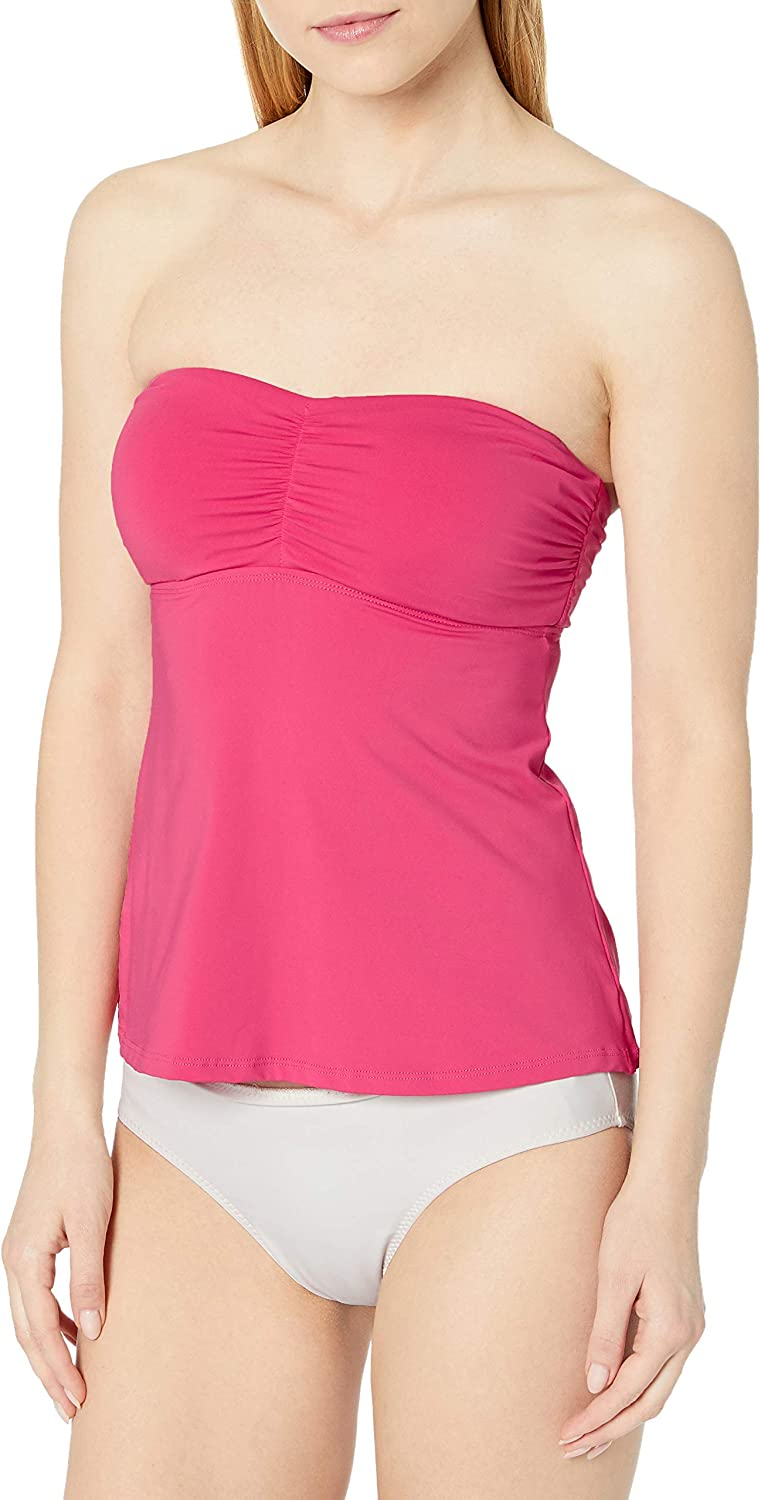 OFFicial site Cole of California Women's Standard outlet Bandeau Tankini Front Twist