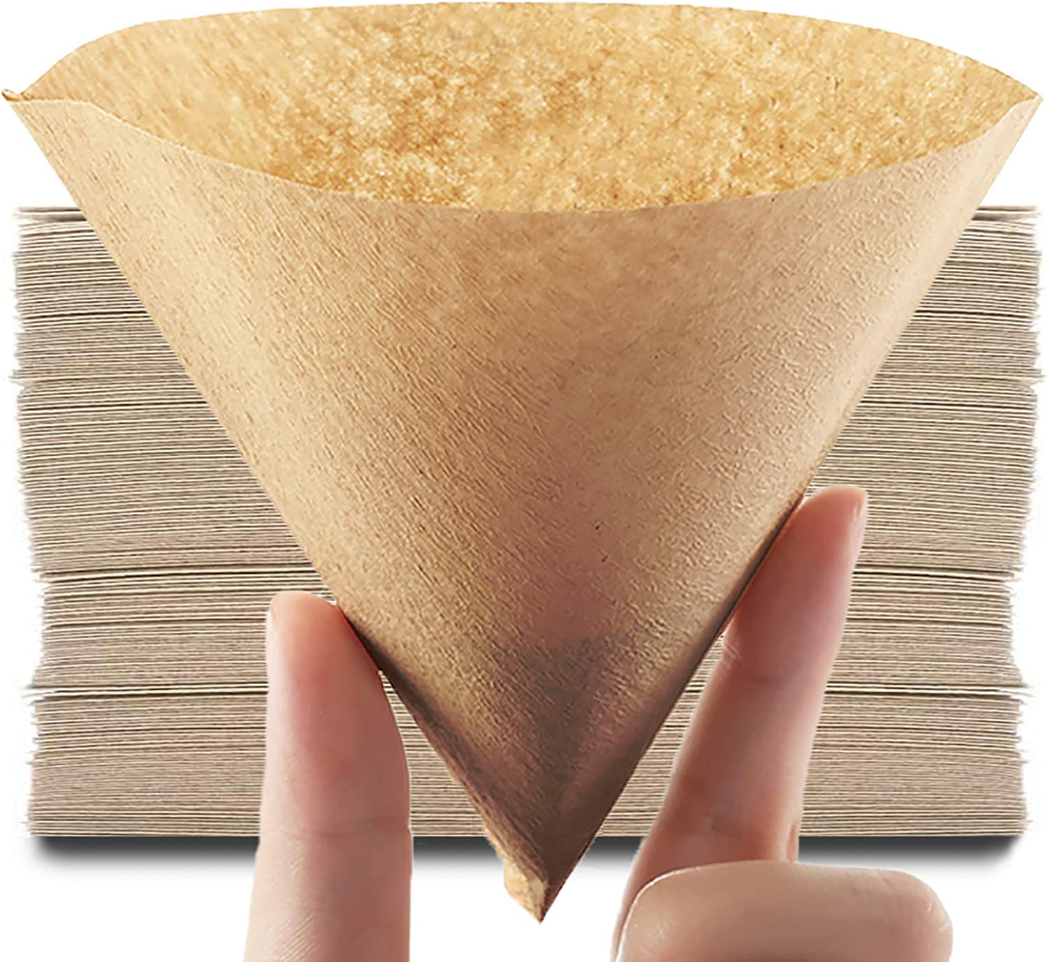 Coffee Filter #2 Cone Paper New York Mall V60 2-4 Reservation Disposable Cu
