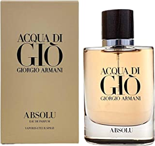 Giorgio Armani Acqua Di Gio Absolu for Men By Giorgio Armani Eau De Parfum Spray 2.5 oz/ 75 ml, 75 ml