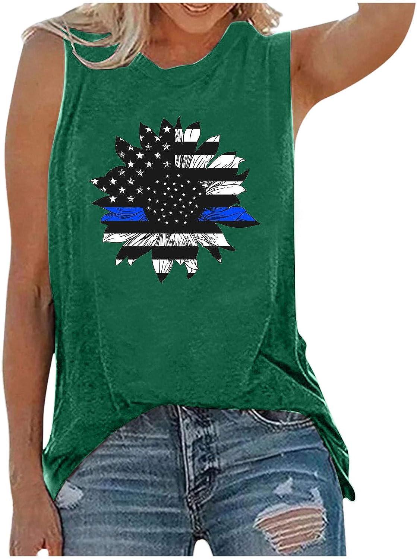 Women's Basic O Neck T Shirts Split Tunic Tank Tops