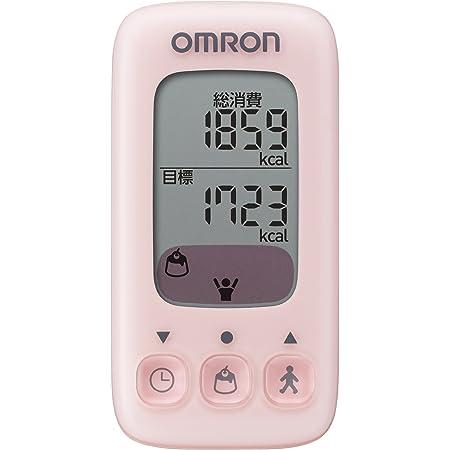 オムロン(OMRON) 活動量計 カロリスキャン ピーチ HJA-310-PK