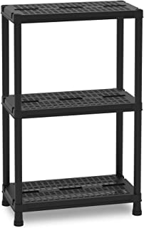 TOOMAX Universal Vent 63 Maxi-Etagère, Noir, 60x30x95cm