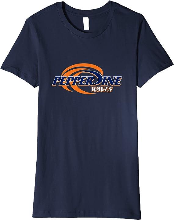 Womens Pepperdine University Waves Womens NCAA T-Shirt ...