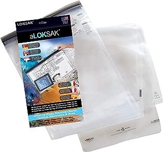 aLOKSAK Waterproof Airtight Resealable Bags - 16x24 Size, 2 Pack