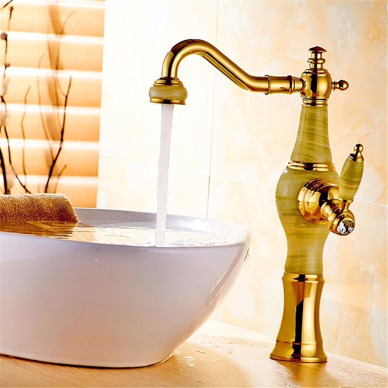 Grifo de lavabo para el hogar, moderno de cobre, para el bao, de acero inoxidable 304, sin plomo, se puede girar, grifo de lavabo, un solo agujero, mango de válvula de c