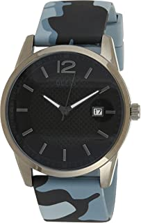 Guess W0991G6 analog Silicone Casual Watch For Men - Multi Color