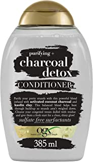 OGX Purifying+ Charcoal Detox Conditioner, 385 ml