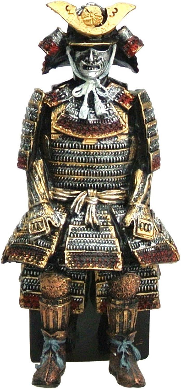 Samurai Figur Oda Nobunaga mit Rüstung Gusseisen 16cm