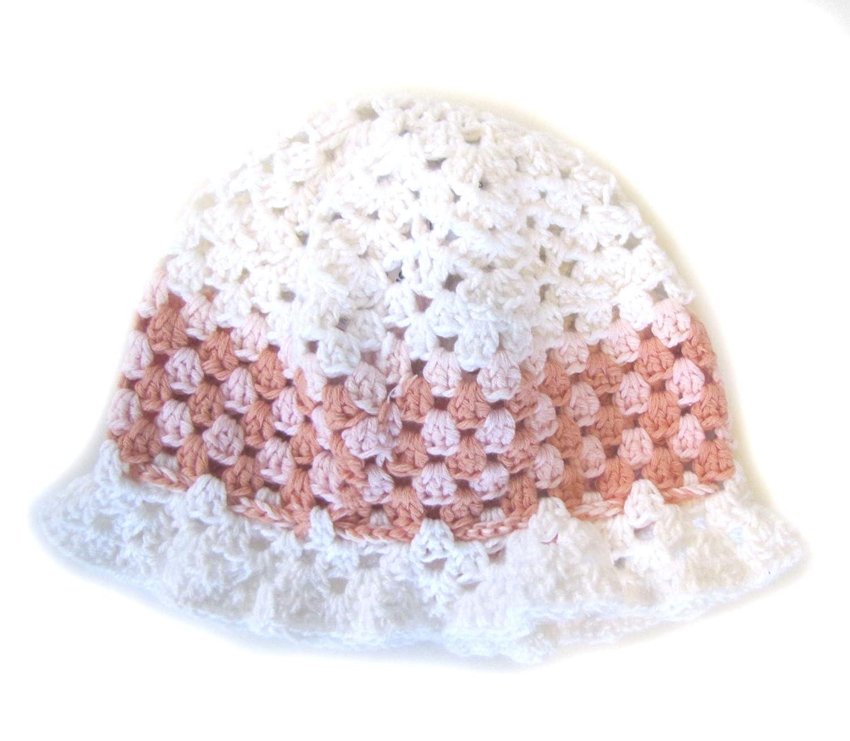 KSS Ranking TOP18 Handmade Cool Cotton Crocheted Sunhat Kids 15-19