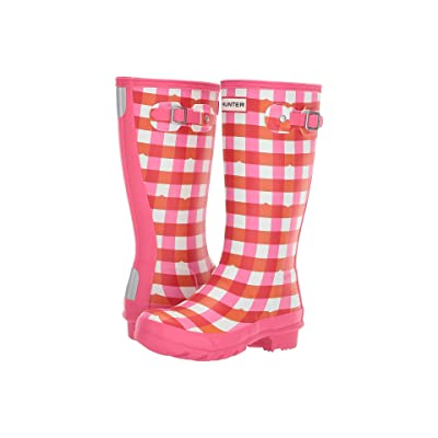Hunter Kids Original Gingham (Little Kid/Big Kid) (Arcade Pink) Girls Shoes
