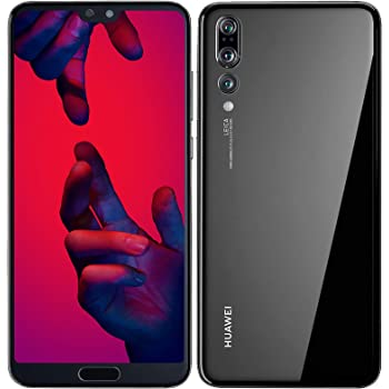 Huawei P20 Pro 128GB Single-SIM (GSM Only, No CDMA) Factory Unlocked 4G/LTE Smartphone (Black) - International Version (Renewed)