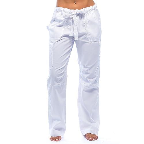 e90f353093 Just Love Womens Utility Solid Scrub Pants