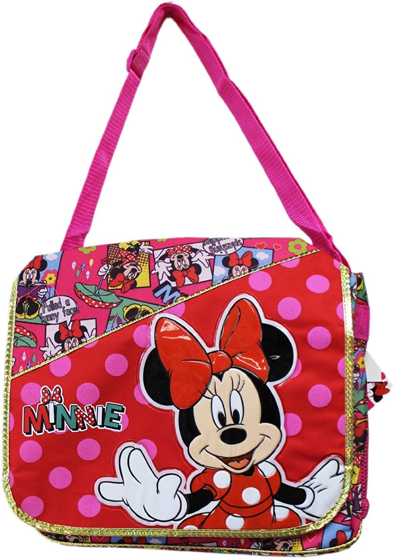 Messenger Bag Disney Minnie Mouse Comic Book New 636104