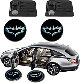 Science Purchase Black Wireless Car Door LED Projector Light (2x Night Cold Blue bat batman car door courtesy welcome logo shadow ghost light laser projector)