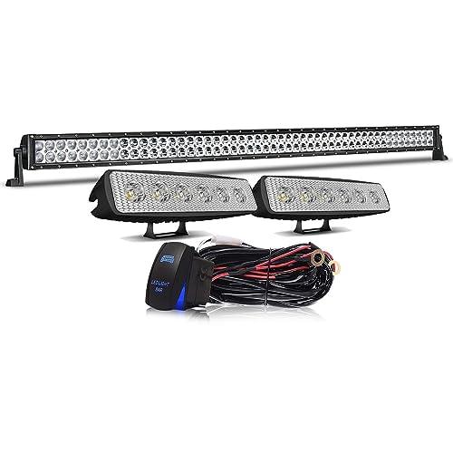 5 X LED FLUSH WHITE MARKER LIGHT 12V FOR SIDE BULL ROOF BAR STEP JEEP 4X4 VAN