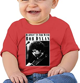 DOfunn Unisex-Baby/Toddler/Infant Bob Dylan Blowing in The Wind T-Shirts