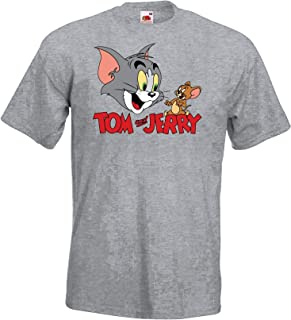 Tom Jerry Tom - Camiseta para Hombre (Talla S-5XL