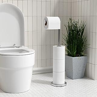 Acier Inox Dérouleur Papier Toilette för cuisine Porte papier Toilette, réserve à papier WC dérouleur papier toilette de h...