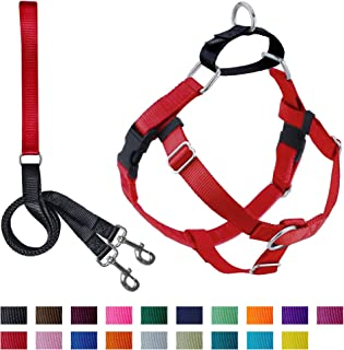 2 Hounds Design Freedom No-Pull Dog Harness with Leash, Large