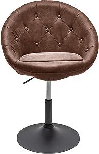 Invicta Interior Design Drehsessel Couture Living antik Coffee höhenverstellbar Loungesessel Wohnzimmersessel Sessel