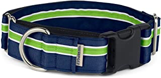 """If It Barks - 1.5"""" Martingale Collar for Dogs - Adjustable - Nylon - Strong and Comfy - Ideal for Training - Made in USA"""