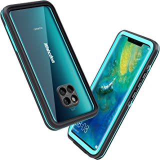 Mishcdea Waterproof Case for Huawei Mate 20 Pro, Shockproof Snowproof Dirtproof Full Body Protective Case Only for Huawei Mate 20 Pro (Blue)