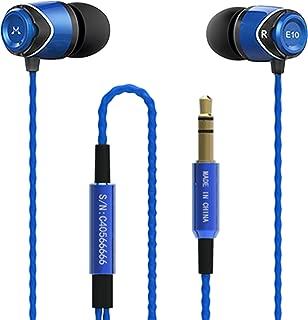 SoundMAGIC E10 Noise Isolating in-Ear Earphones (Blue)