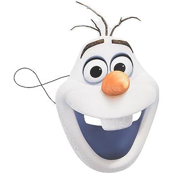 Máscara de Olaf Frozen: Amazon.es: Juguetes y juegos