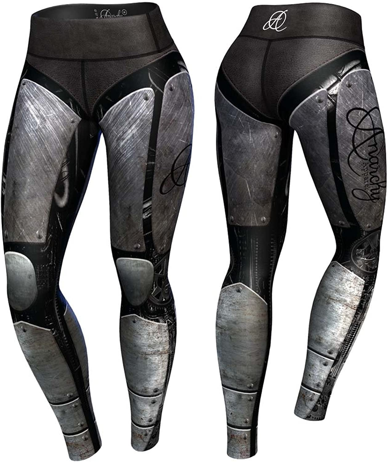 Anarchy Apparel Compression Cybers Team Fitness Pants Wear MMA Pants Legging