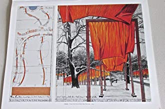 Christo Jeanne-Claude Poster 1 The Gates Project Central Park 14x11 Offset Lithograph