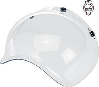 Visier Bubble Biltwell, transparent, beschlagfrei für Jet Helme mit 3 Knöpfen!