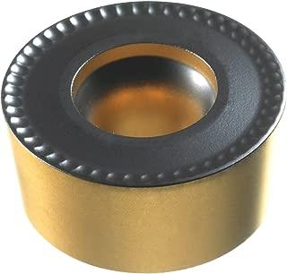 Sandvik Coromant, RCMT 10 T3 M0 4325, CoroTurn 107 Insert for Turning, Carbide, Round, Neutral Cut, 4325 Grade, Ti(C,N)+Al2O3+TiN, Inveio Coating Technology