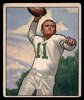 Football NFL 1950 Bowman #95 Tommy Thompson Very Good Eagles