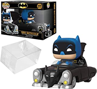 Funko Pop! Rides: Batman 80th - 1950 Batmobile Bundle with PopShield Pop Box Protector