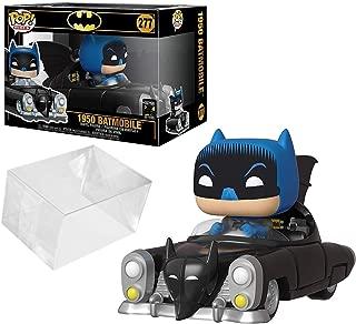 Funko Pop! Rides: Batman 80th - 1950 Batmobile Bundle with PopShield Pop Box Protector