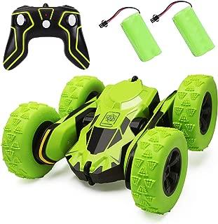 BGVANG ラジコンカー 電動 リモコンカー こども向け ラジコン オフロード 360度回転 四輪駆動 高速 車 おもちゃ 2.4GHz無線 充電 操作簡単 子供 贈り物 (グリーン)