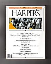 Harper's - June, 1994. School Segregation; Disappearing Bluefin Tuna; Garrison Keillor; Joy Williams; Gun Lobby; Paul Krugman; James Carville; Clinton's Trial by Klieg Light; Manchurian Boom