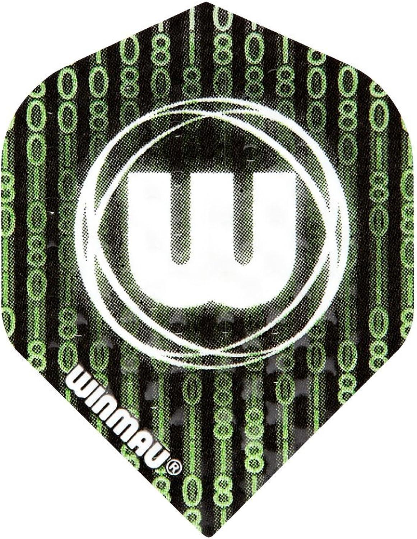 (Matrix(104))  Winmau Embossed Standard Flights (9 Flights)