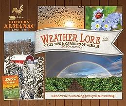 Farmers' Almanac 2020 6.125 x 5.125 Inch Weather, Lore & More Box Calendar, Weather Farm Gardening Health Organic