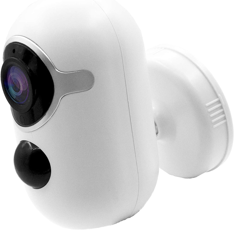 WiYA 1080P 6000mAh Wireless Rechargeable Security Camera $34.99 Coupon