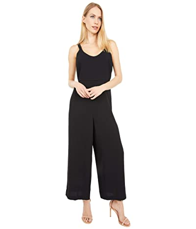 Madewell Scoop-Neck Wide-Leg Jumpsuit (True Black) Women