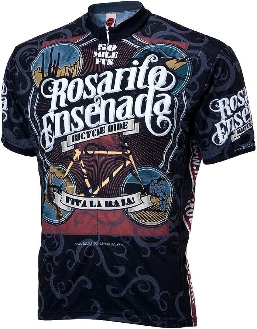World Jerseys Rosarito Ensenada Viva Men's Cycling 5% OFF Max 40% OFF Baja Jerse la