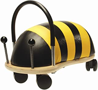 Prince Lionheart Wheely Bug, Bee, Large, Child Ride-On Toy, Multi-Directional Casters, Helps Promote Gross Motor Skills an...