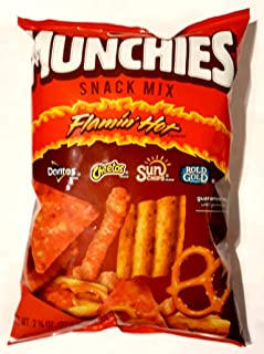 Munchies Snack Mix Flamin' Hot 2 3/4 oz Pack of 12