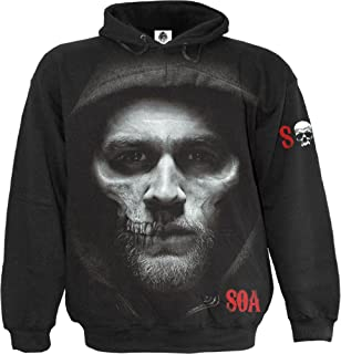 Spiral - Mens - Jax Skull - Sons of Anarchy Hoody Black