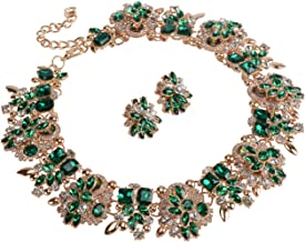 Best green gold necklace Reviews
