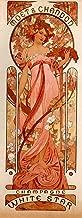Moet & Chandon White Star by Alphonse Maria Mucha - 13