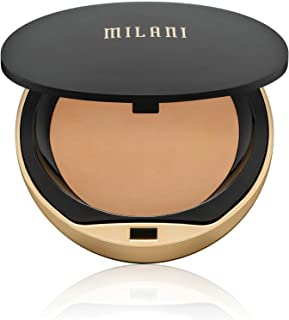 Milani Conceal + Perfect Shine-Proof Powder - (0.42 Ounce) Vegan, Cruelty-Free Oil-Absorbing Face Powder that Mattifies Skin and Tightens Pores (Beige)