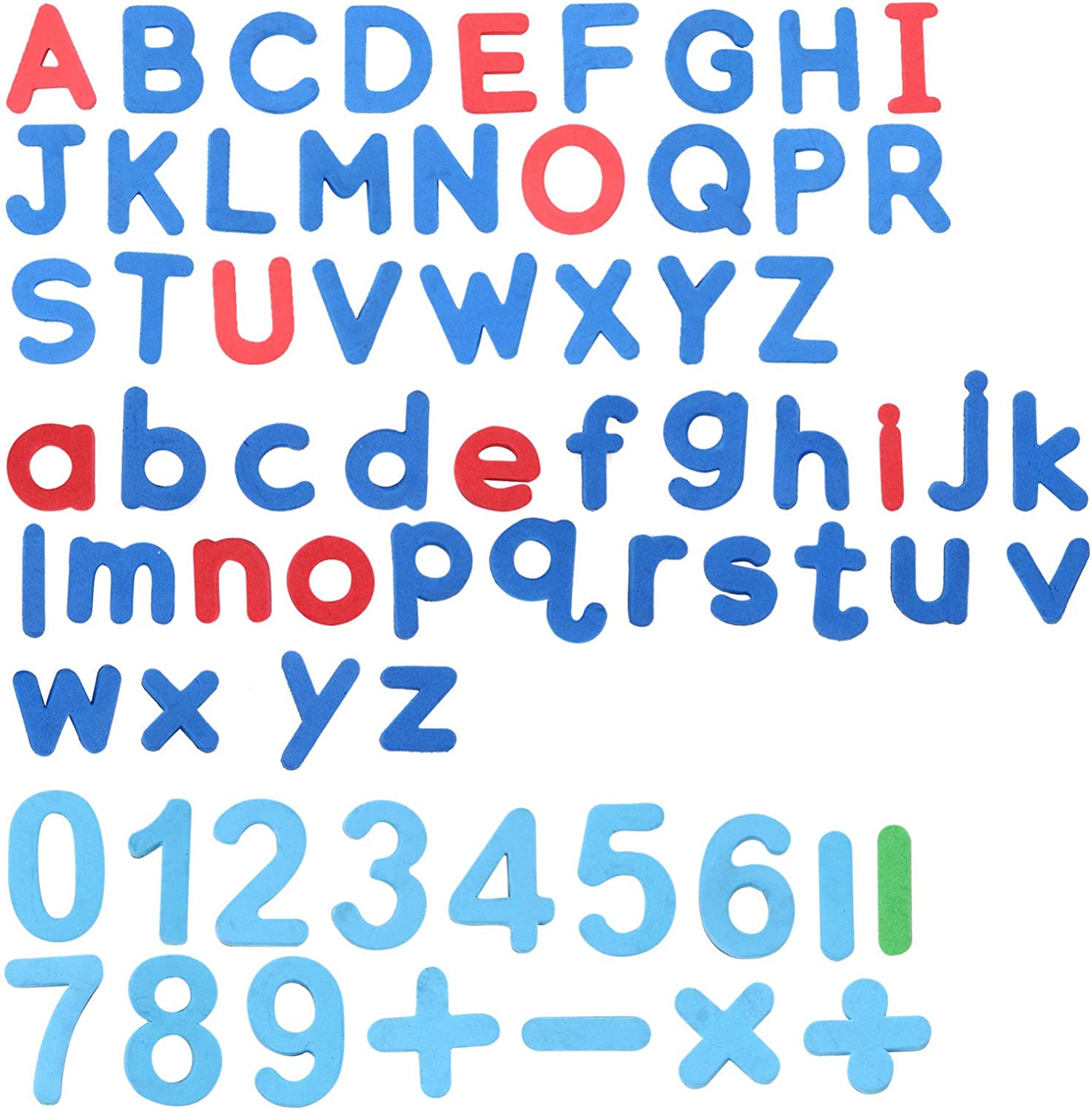 NUOBESTY 3 Sets Attention brand Magnetic Letters Sticker Credence Numbers and Alph Fridge